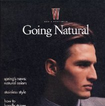 Image of W (Men), Spring 1990-1992, Going Natural, Supplement
