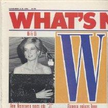 Image of W, November 3-10, 1986