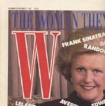 Image of W, November 30-December 7, 1987