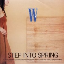 Image of W, Spring 2000-2004, Step into Spring, Supplement