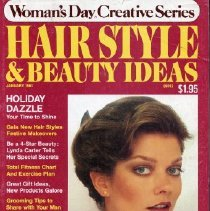 Image of Woman's Day Creative Series, Hairstyles and Beauty Ideas, January 1981
