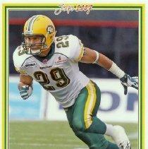 Image of Siddeeq M. Shabazz  Edmonton Eskimos 96