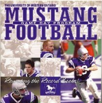 Image of Western Mustangs Game Day Program 2003