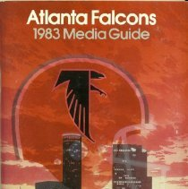 Image of A media guide for the Atlanta Falcon for the 1980 season