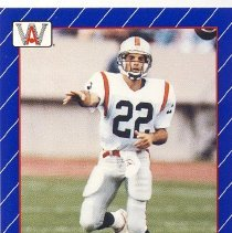 Image of Stewart Hill - B.C. Lions Card number 8