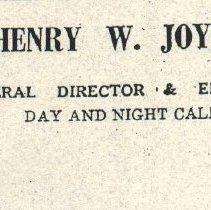 Image of Henry W. Joynes