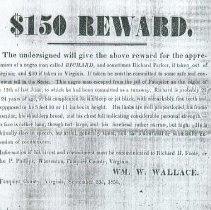 Image of Reward for runaway Richard