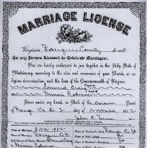 Image of ARCH.05460 - Vital Records, Marriage