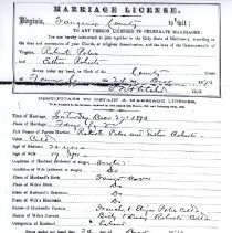 Image of ARCH.05689 - Vital Records, Marriage