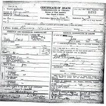 Image of ARCH.06045 - Vital Records, Death