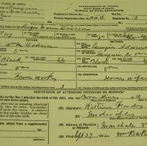 Image of ARCH.06922 - Vital Records, Birth