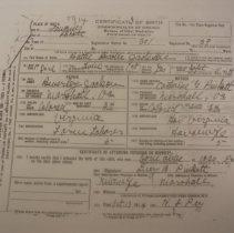 Image of ARCH.07188 - Vital Records, Birth