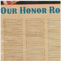 Image of Honor Roll