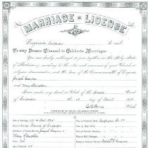 Image of ARCH.08465 - Vital Records, Marriage