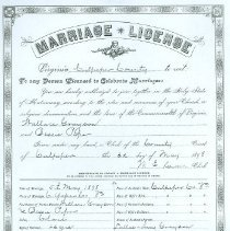 Image of ARCH.08468 - Vital Records, Marriage