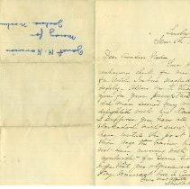 Image of ARCH.09404 - Letter