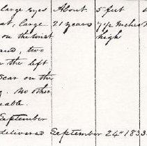 Image of FNR.158 - Free Negro Register