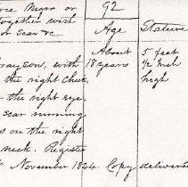 Image of FNR.405 - Free Negro Register