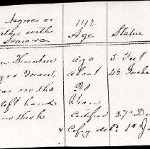 Image of FNR.641 - Free Negro Register