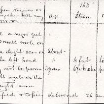 Image of FNR.753 - Free Negro Register