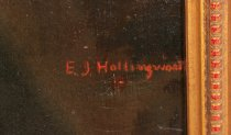 Image of Signature of E.J. Hollingsworth