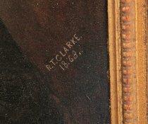 """Image of Signature """"R.T. Clarke. 1868"""""""