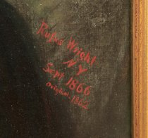 Image of Signature of Rufus Wright