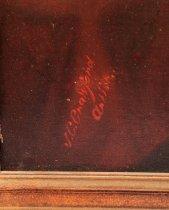 """Image of Signature """"J.C. Crawford. Artist"""""""