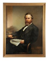 Image of Rutherford B. Hayes (Image courtesy of Garth's Auctioneers & Appraisers)