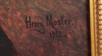 "Image of Signature ""Henry Mosler. 1902"""