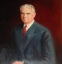 Image of John W. Bricker (Image courtesy of Garth's Auctioneers & Appraisers)