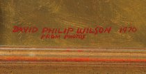 Image of Signature: David Philip Wilson