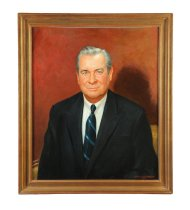 Image of James A. Rhodes (Image courtesy of Garth's Auctioneers & Appraisers)