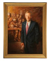 Image of George Voinovich (Image courtesy of Garth's Auctioneers & Appraisers)
