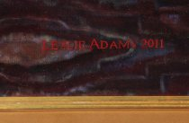 Image of Signature: Leslie Adams