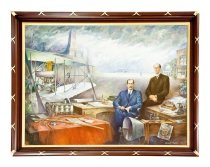 Image of Wright Brothers and their Accomplishments (Image courtesy of Garth's)