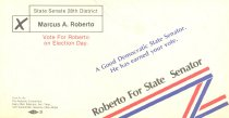 Image of Back of campaign flier for Marc Roberto