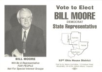 Image of Postcard  promoting Bill More for State Rep