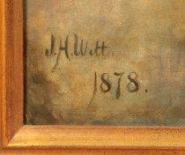 Image of Signature of J.H. Witt