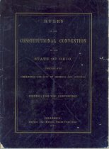 Image of Rules of the 1873-1874 Ohio Constitutional Convention