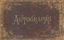 Image of John L. Caldwell's Autograph Book