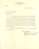 Image of Invitation to John L. Caldwell, 1912