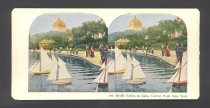 Image of Model Yachts on Central Park Lake