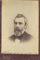 Image of Front of cabinet card