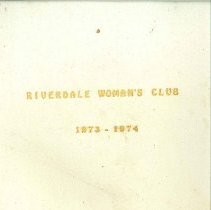 Image of WC Scrapbook 73-74