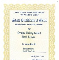 Image of 2004.1.30 - Certificate, Achievement