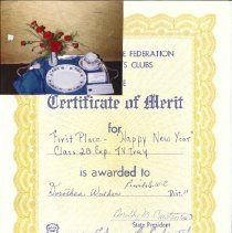 Image of 2004.1.31 - Certificate, Achievement
