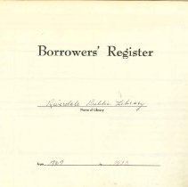 Image of RPL Borrowers' Register