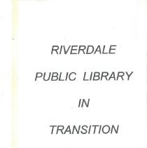 Image of Transitioning Library
