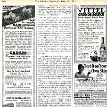 Image of Ad in The Literary Digest